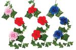 Ivy Garland with Roses